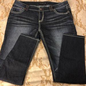 Rue21 Dark Wash Skinny Jeans 13/14